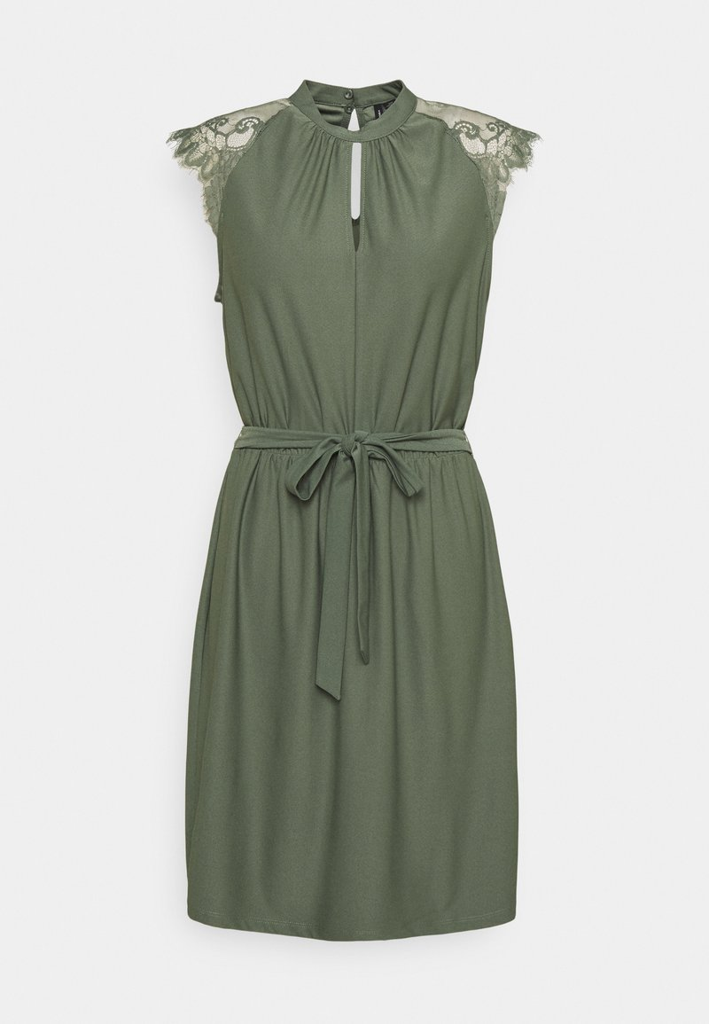 Vero Moda - VMMILLA SHORT DRESS - Cocktail dress / Party dress - laurel wreath