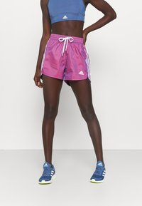 adidas Performance - Pantalón corto de deporte - semi night flash - 0