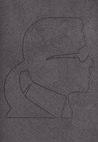 KARL LAGERFELD - IKONIK CASE IP11 - Handytasche - black - 2