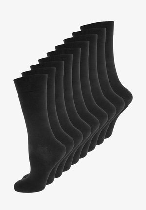 ONLINE SOCKS 9 PACK UNISEX - Sukat - black