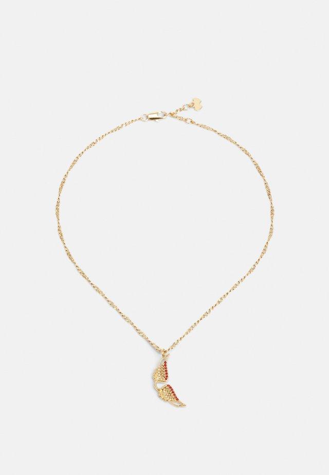 MILA TWIST NECK - Necklace - shiny gold-coloured