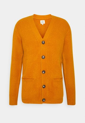 TOBY CARDIGAN - Cardigan - golden oak