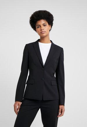 THE LONG JACKET - Blazere - black