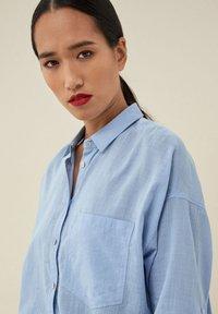 Salsa - MAGDALENA  - Button-down blouse - blau_8045 - 3