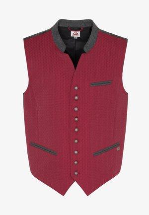 MAXDORF - Waistcoat - red