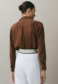 Massimo Dutti - Koszula - brown - 1