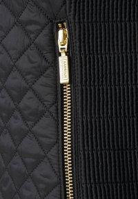 Barbour International - FORMATION QUILT - Light jacket - black - 2