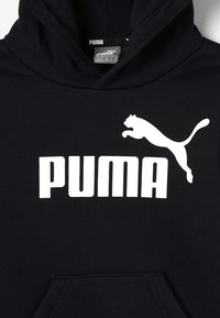 Puma - LOGO HOODY  - Bluza z kapturem - cotton black - 2
