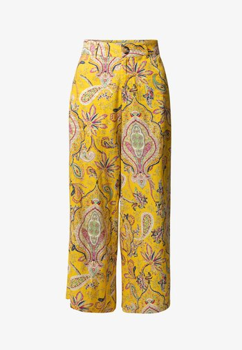 LUCAS - Trousers - yellow