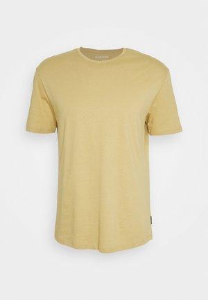 UNISEX - Jednoduché triko - tan