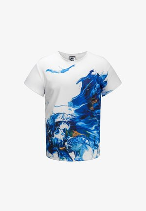DIVER  - Print T-shirt - blue