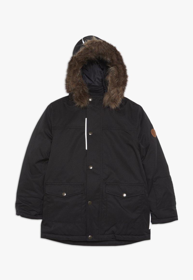 Name it - NKMSNOW10 JACKET  - Zimní bunda - black