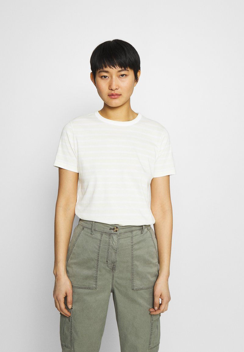 Tommy Hilfiger - COOL TEE - Print T-shirt - classic breton/frosted lemon
