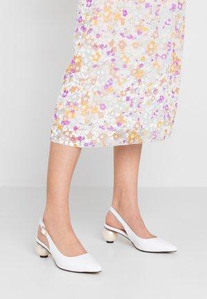 FELICITY - Classic heels - white
