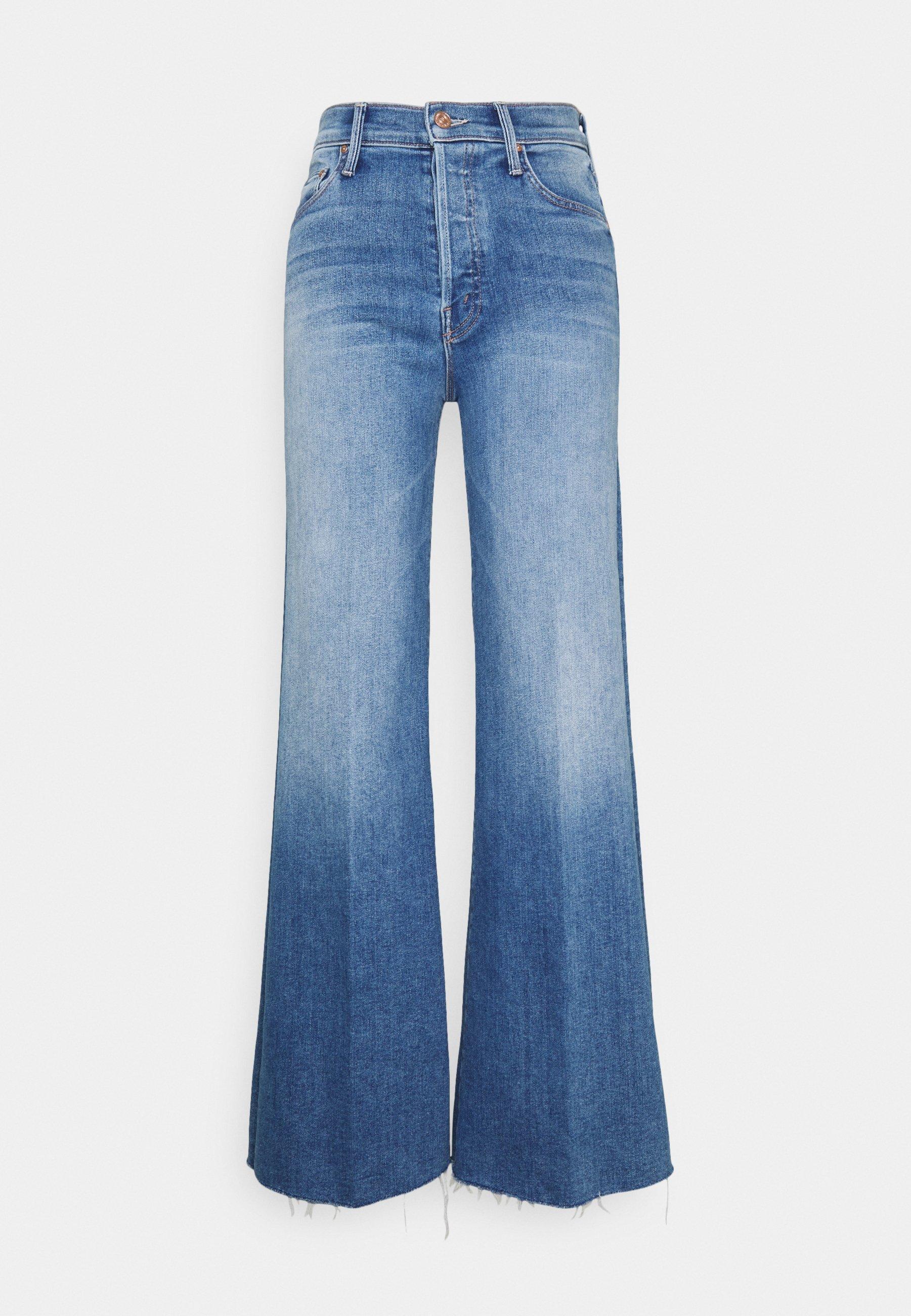 Damer THE TOMCAT ROLLER FRAY - Flared jeans