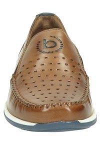 Bugatti - Półbuty wsuwane - cognac - 5