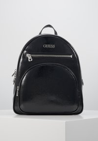 Guess - NEW VIBE LARGE BACKPACK - Rucksack - black - 0