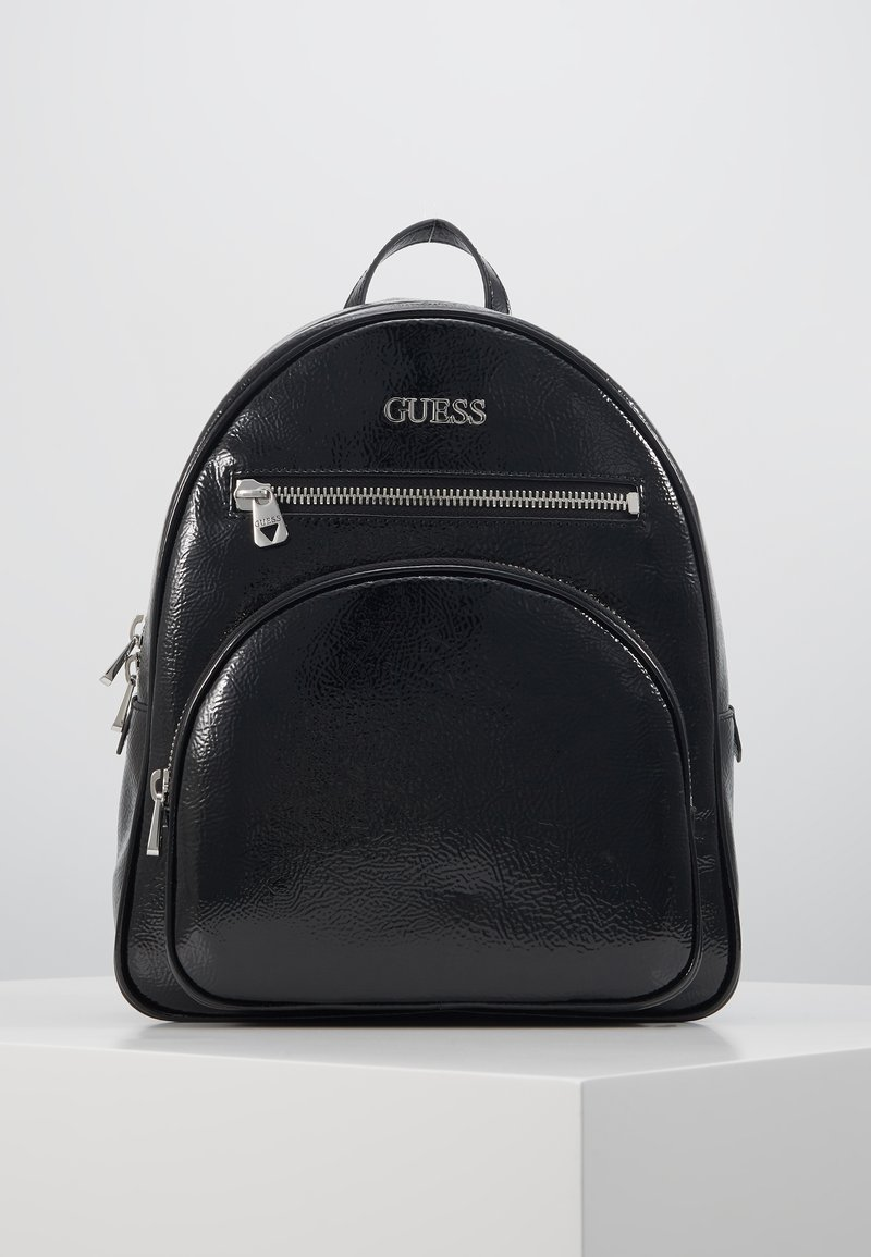 Guess - NEW VIBE LARGE BACKPACK - Rucksack - black