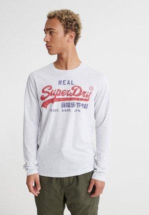 VINTAGE LOGO PREMIUM GOODS - T-shirt à manches longues - ice marl