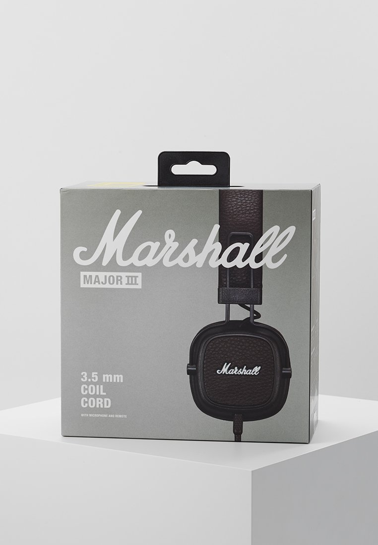 Best Price Outlet Marshall MAJOR III - Headphones - brown | women's accessories 2020 NVd73