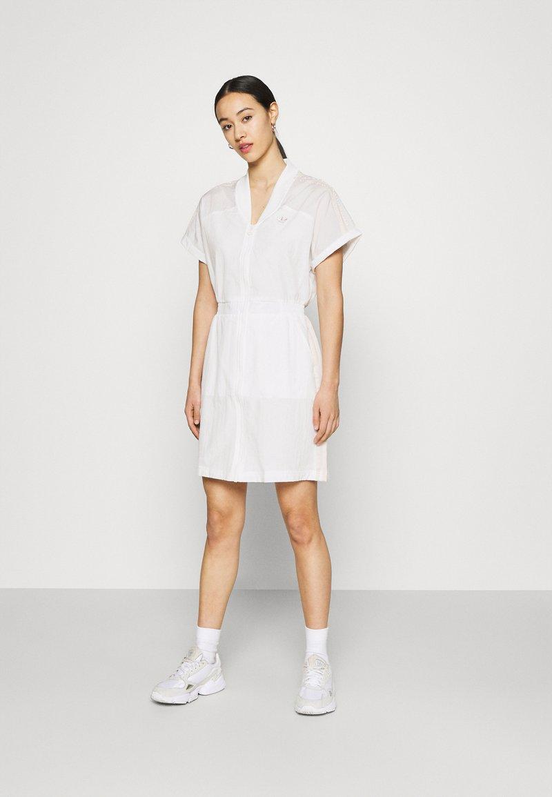 adidas Originals - DRESS - Vestido informal - white