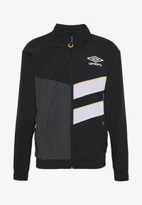 Umbro - DIAMOND CUT TRACK JACKET - Training jacket - black/brilliant white - 4