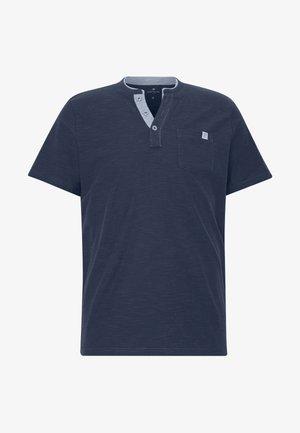 HENLEY - Basic T-shirt - cyber grey