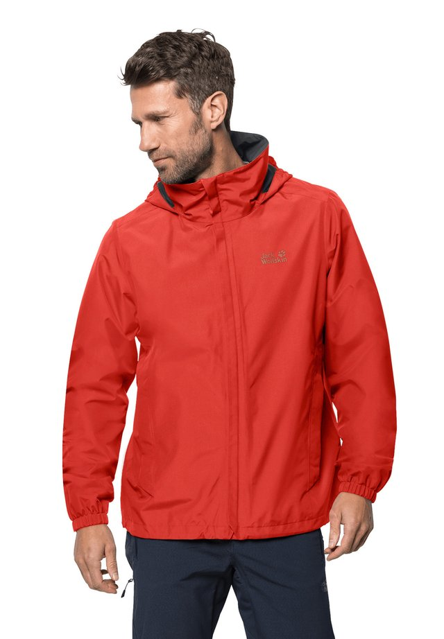 STORMY POINT JACKET  - Waterproof jacket - lava red