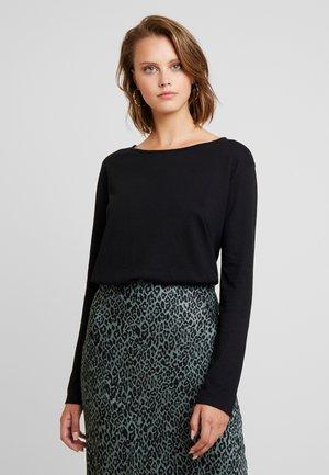 NOBEL - Long sleeved top - black