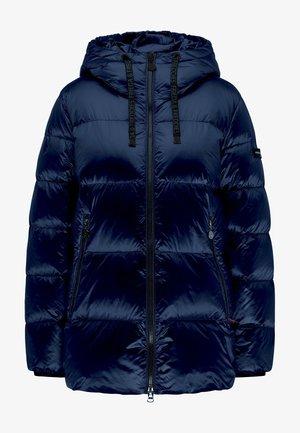 GLÄNZENDE JAVA - Down jacket - midnight blue