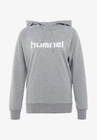 Hummel - Hoodie - grey melange - 3