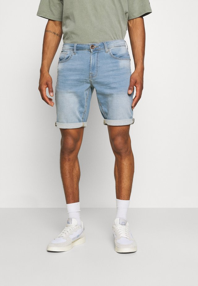 SEATLE - Shorts di jeans - bleach used