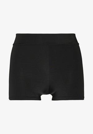 HEAT BIKER - Bikini bottoms - black