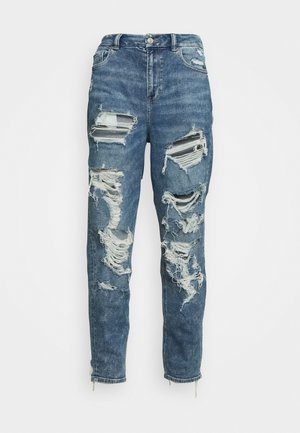 MOM - Straight leg jeans - acid wash