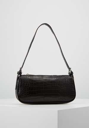 AMELIE BAG - Handbag - black/silver