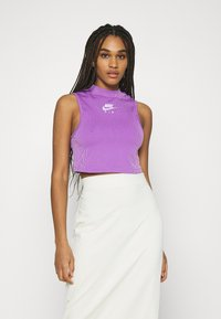 Nike Sportswear - AIR TANK  - Top - violet shock/white - 0