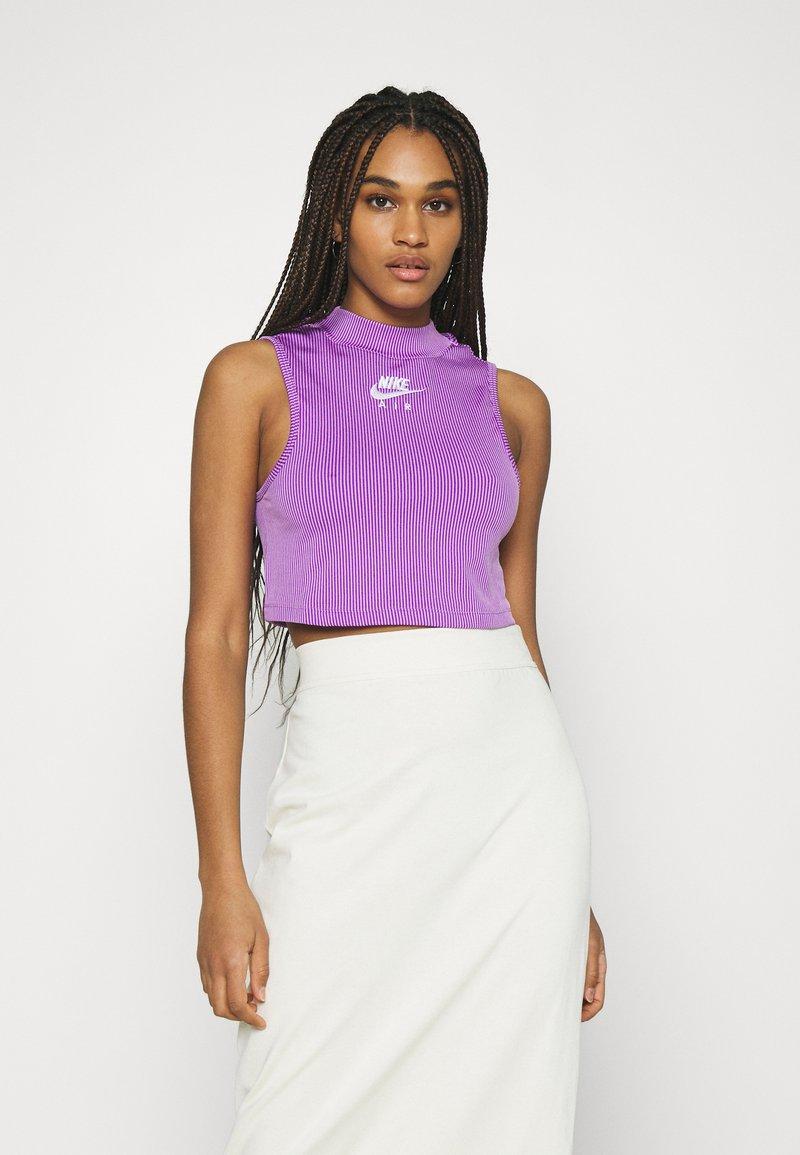 Nike Sportswear - AIR TANK  - Top - violet shock/white
