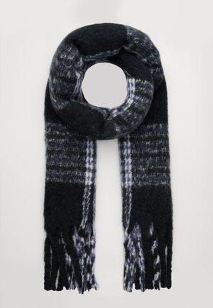 NOELA SCARF - Sjaal - black/grey