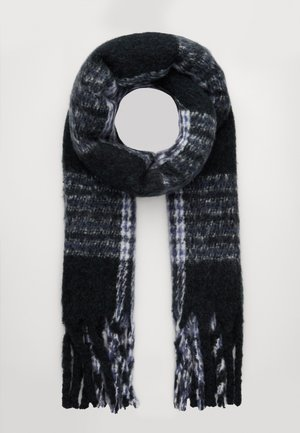 NOELA SCARF - Scarf - black/grey
