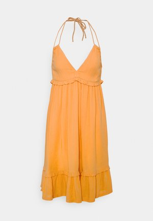 VIMESA HALTERNECK  DRESS - Day dress - golden apricot