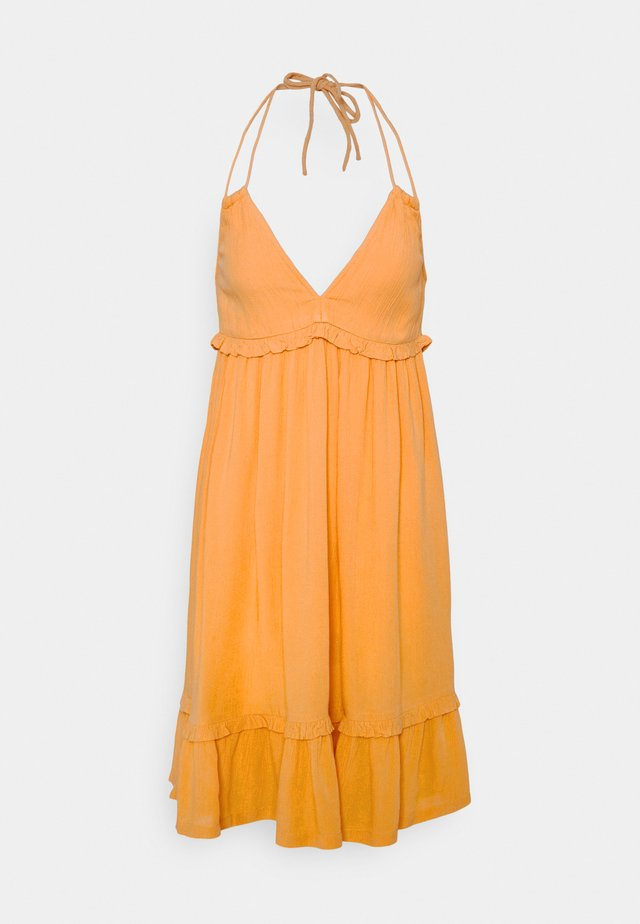 VIMESA HALTERNECK  DRESS - Korte jurk - golden apricot