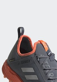 adidas Performance - TERREX SPEED GTX SHOES - Trail running shoes - gray - 5