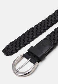 Marc O'Polo - RUNJA - Braided belt - black - 1
