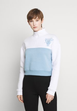 SPORTS CLUB COLOUR BLOCK ZIP UP - Sweatshirt - blue