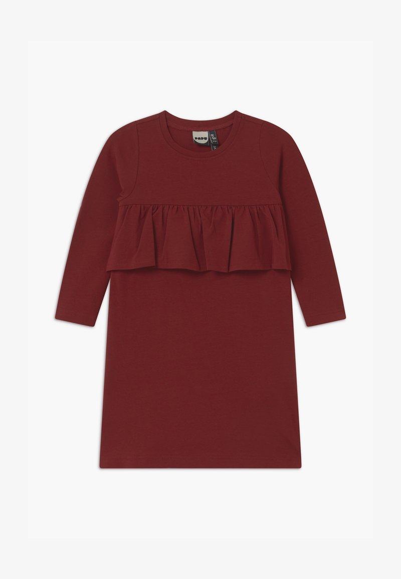 Papu - WAVE - Žerzejové šaty - deep red