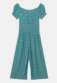 Marks & Spencer London - SHIRRED - Jumpsuit - turquoise - 1