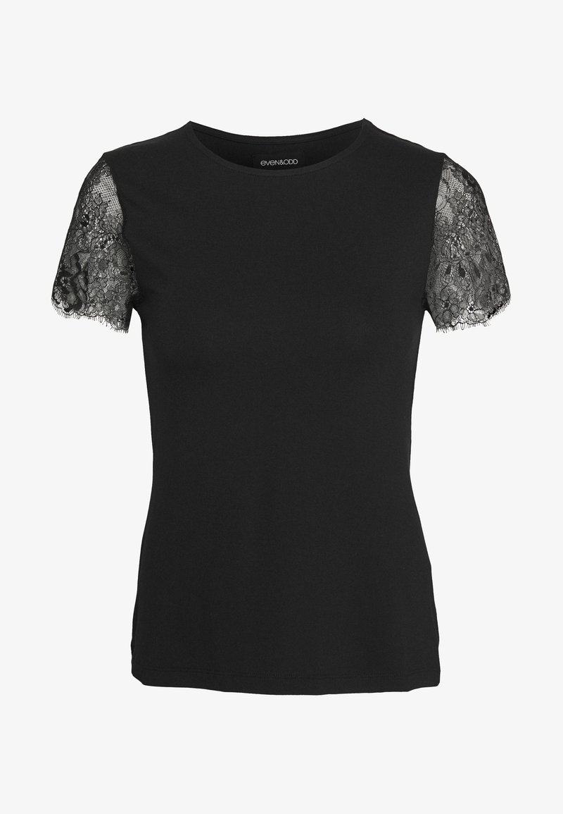 Even&Odd - T-shirts med print - black
