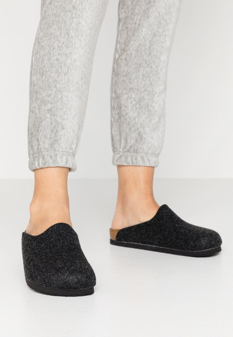 Birkenstock - AMSTERDAM - Slippers - gray