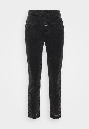 PEDAL PUSHER - Kalhoty - washed black