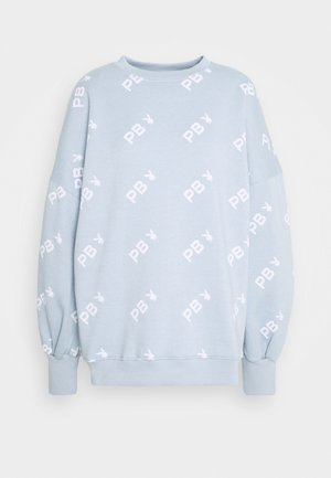 PLAYBOY OVERSIZED - Sweatshirt - dusky blue
